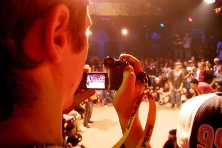 Съемка на камеру брейк-данса