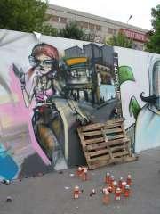 Граффити и палет