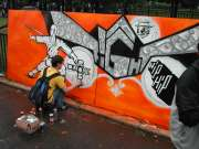 Hip-hop Fight Graffiti