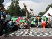 Ромик на руке прыг-прыг